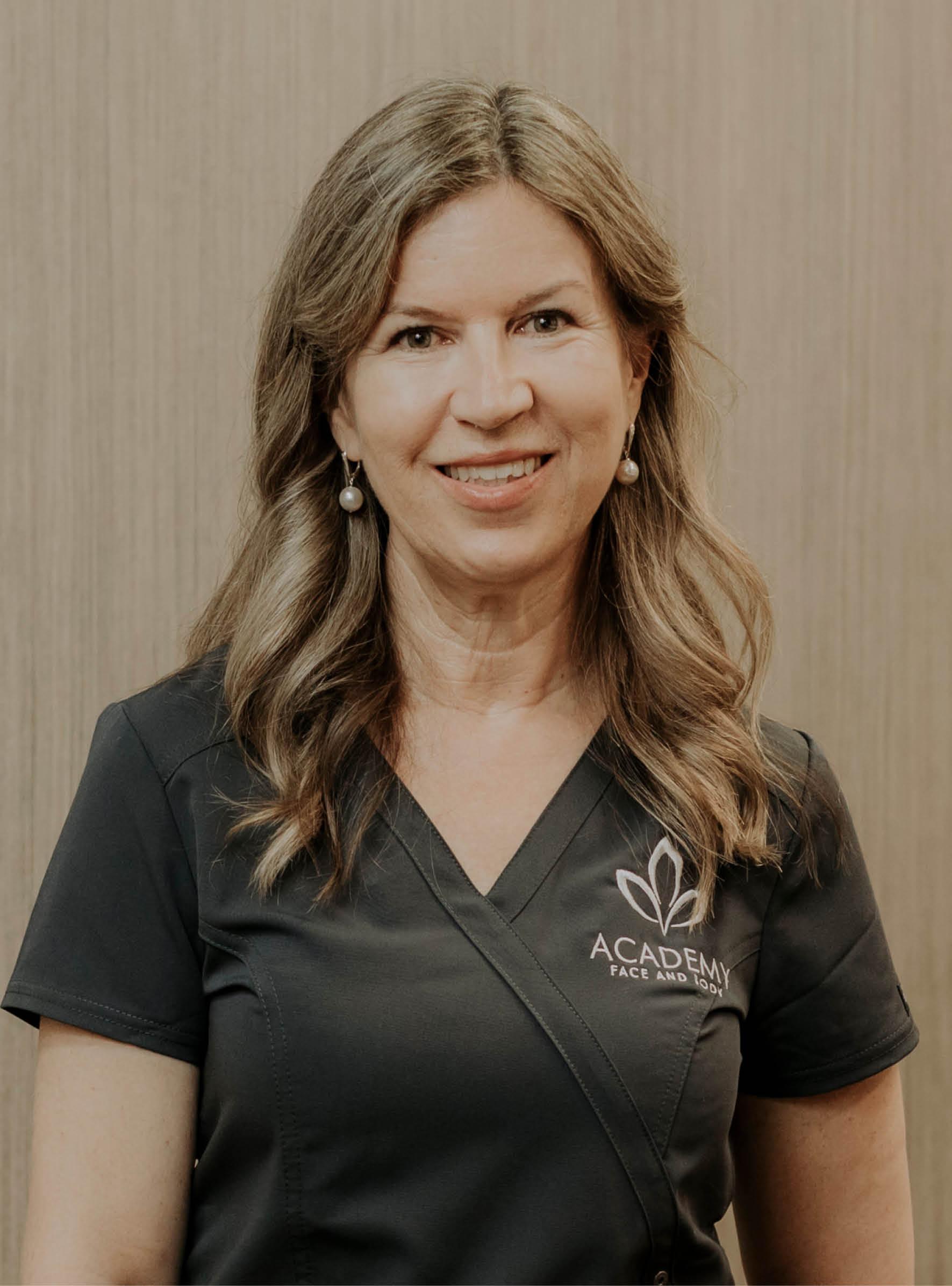 registered nurse Jo Fox