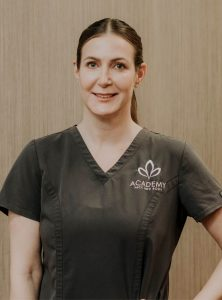 head of dermal therapy Claire Ross